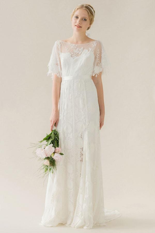 платье хлопковое свадебное