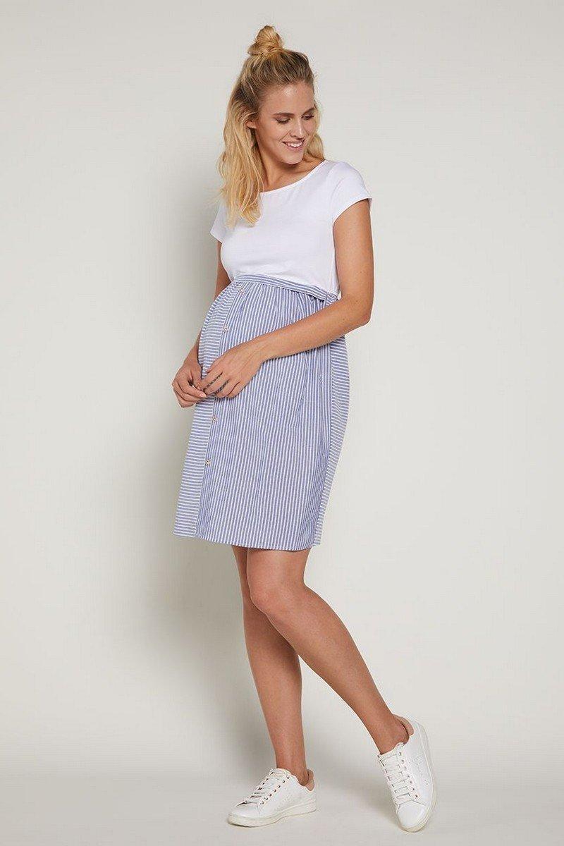 платье хлопковое для беременных