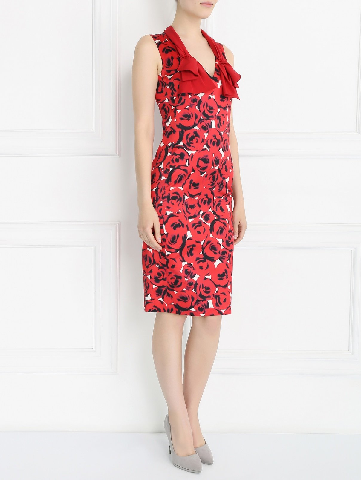 платье хлопковое с шелком
