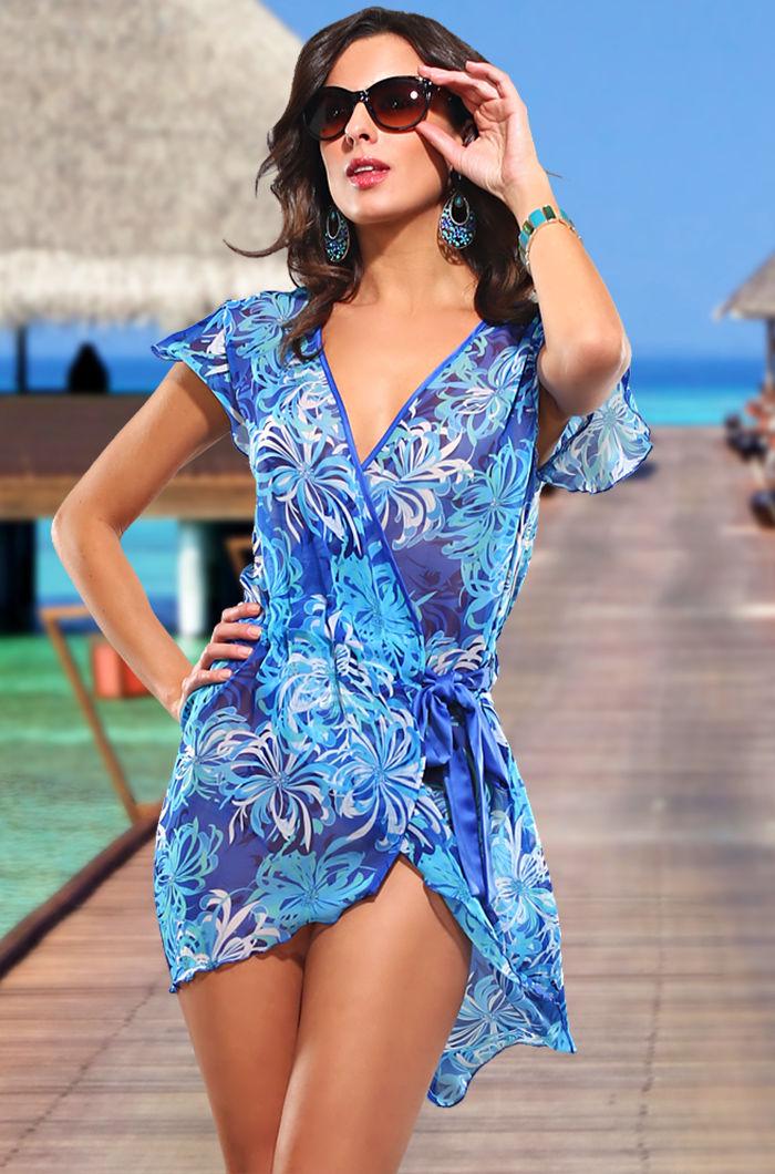 платье халат для пляжа