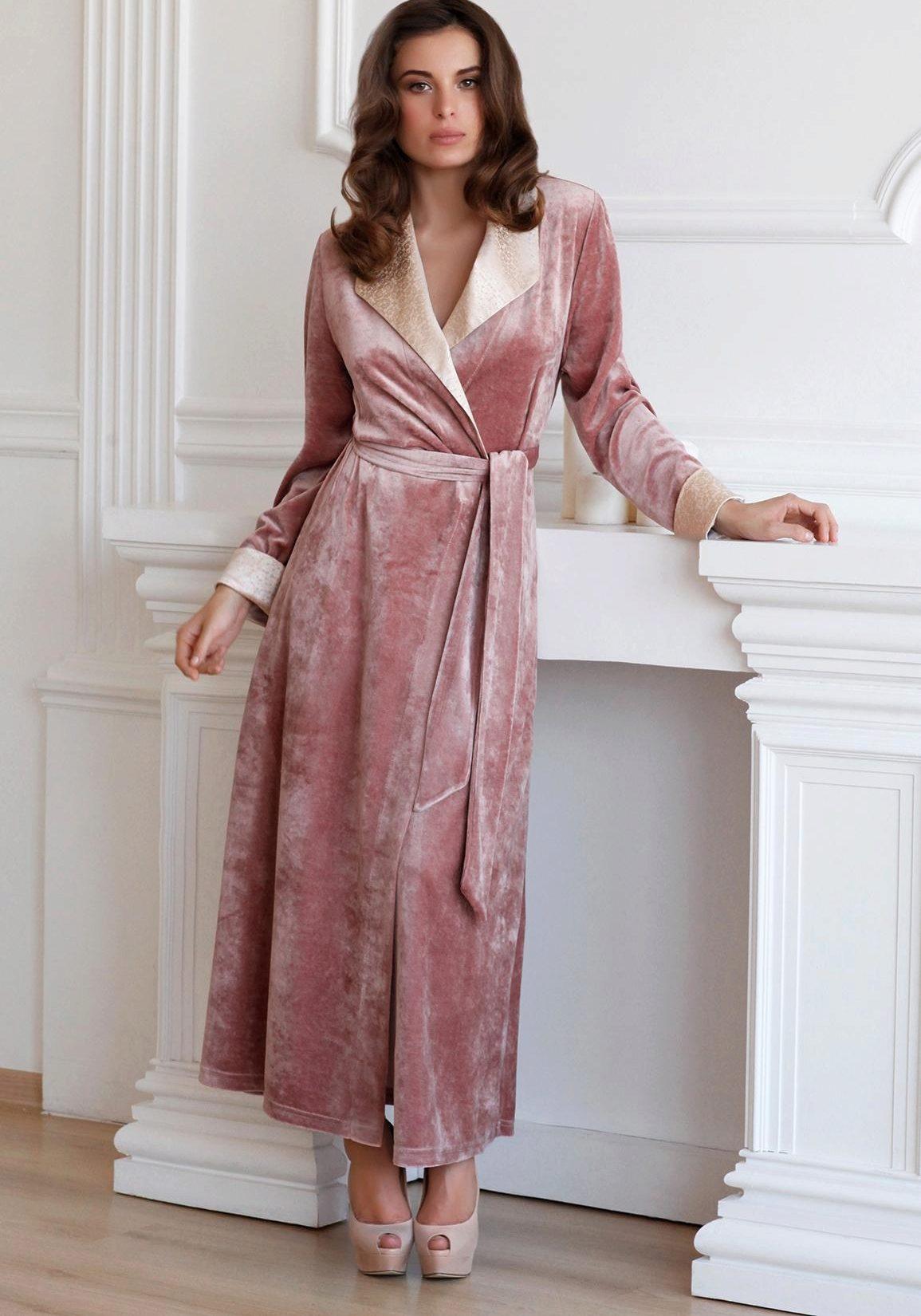 платье халат домашнее