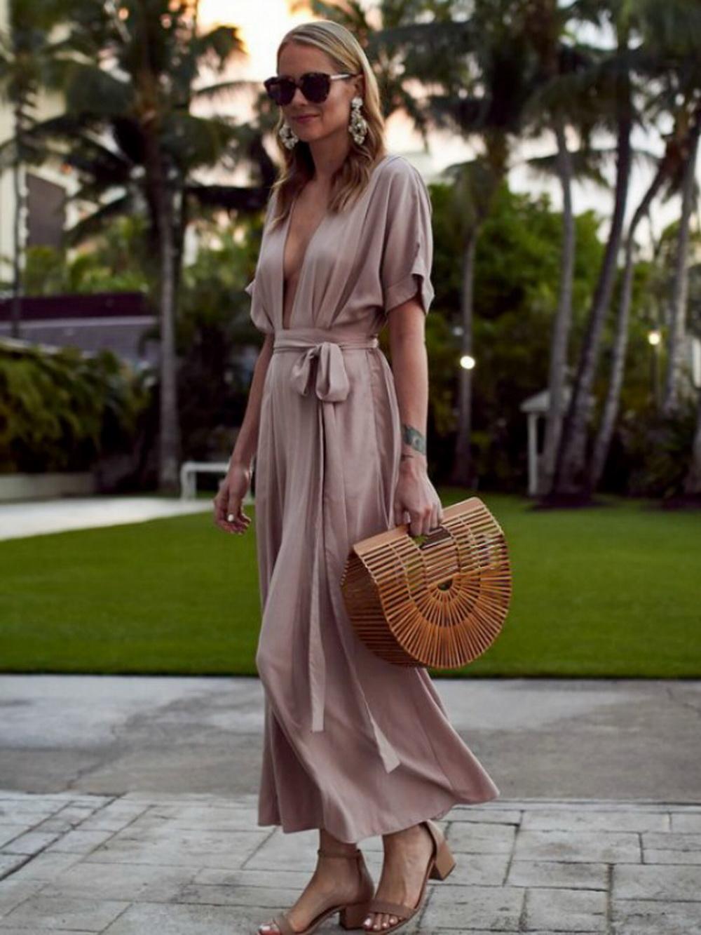 платье халат летнее