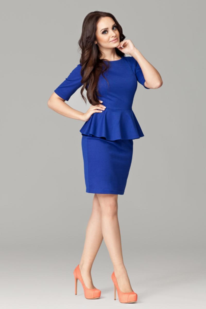 фото с синим платьем верности пламенный знак