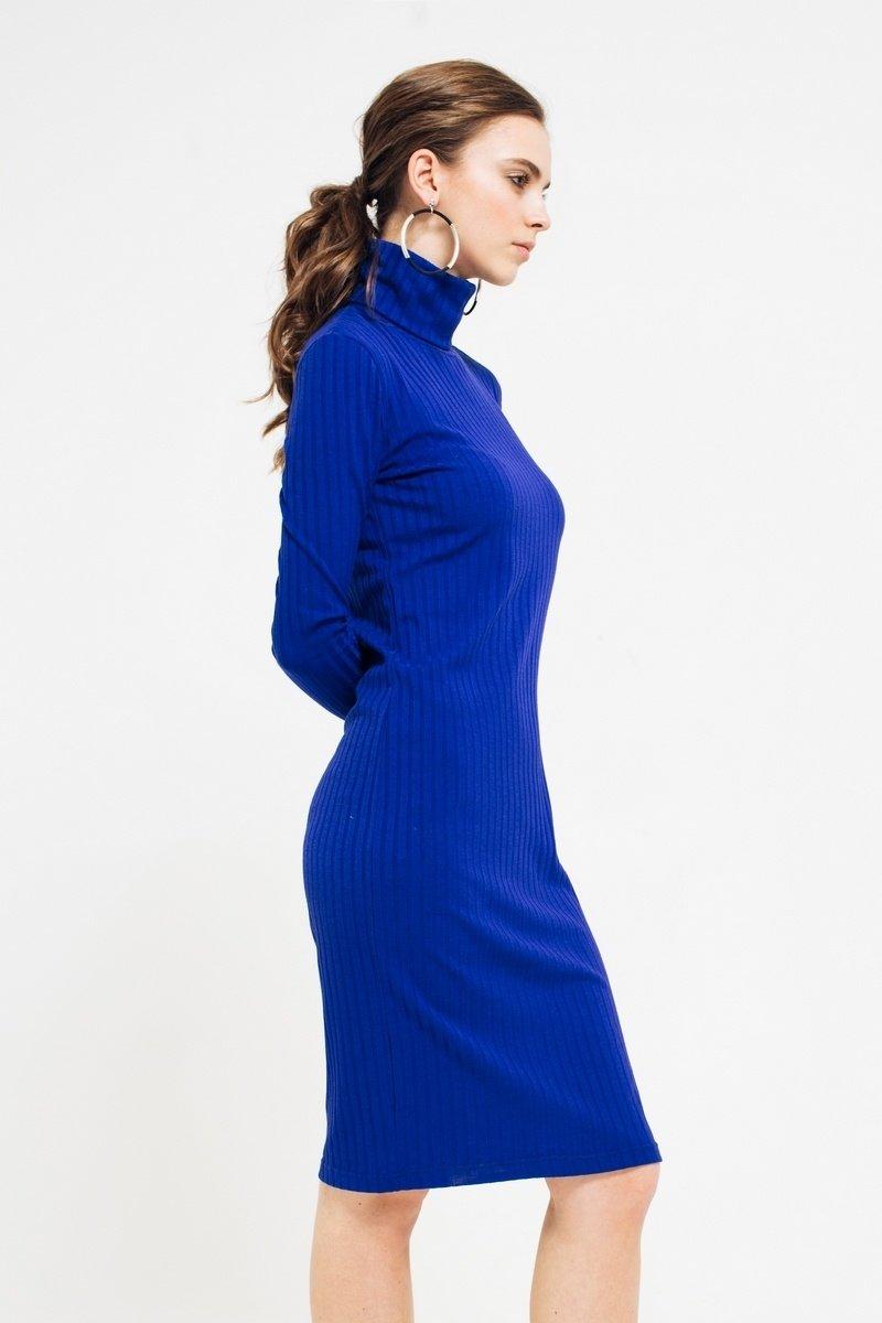 синее платье лапша фото