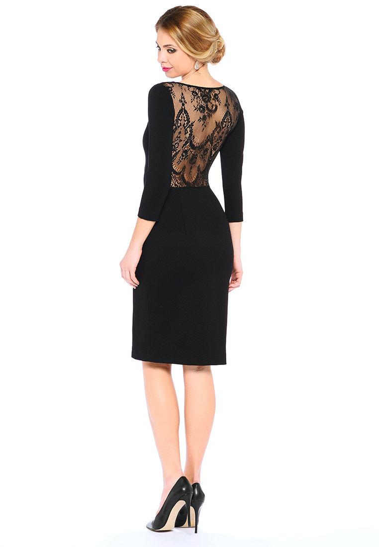 нарядное платье с кружевом фото