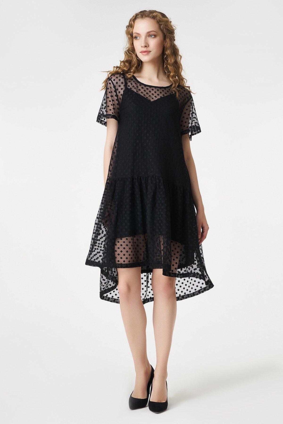нарядное платье с сеткой фото