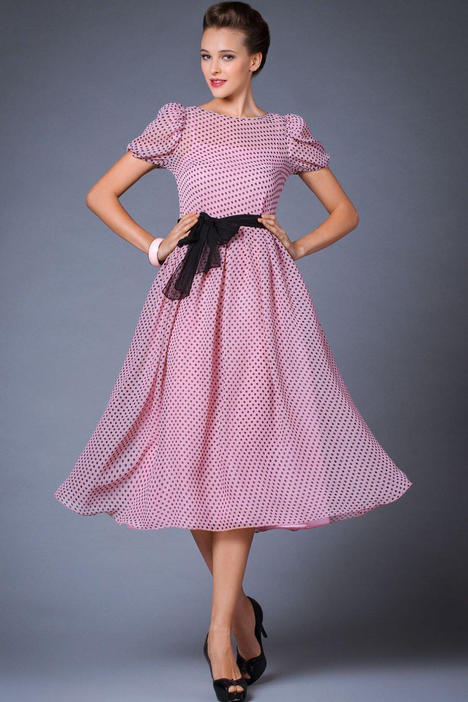 нарядное платье в стиле стиляги фото
