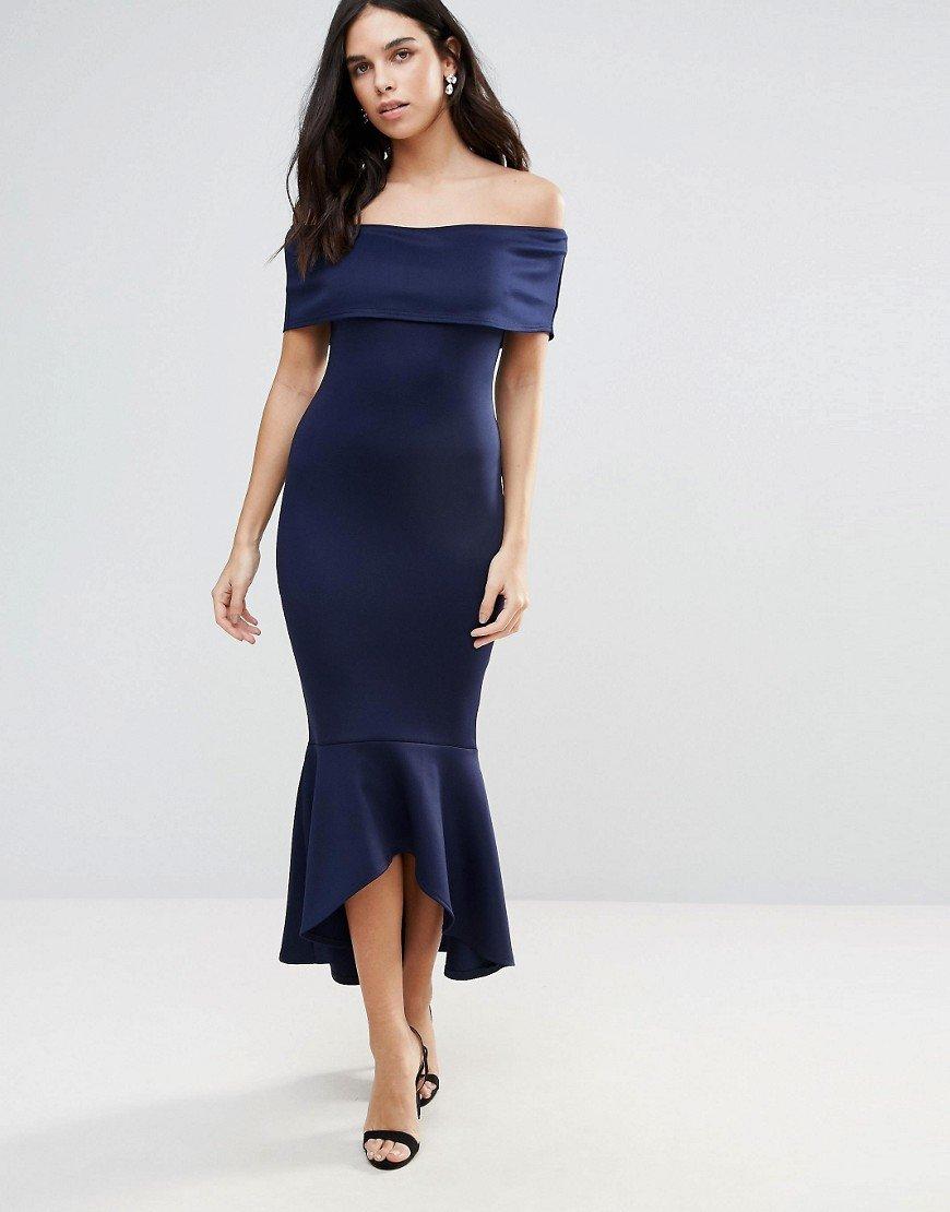 нарядное платье с открытыми плечами фото
