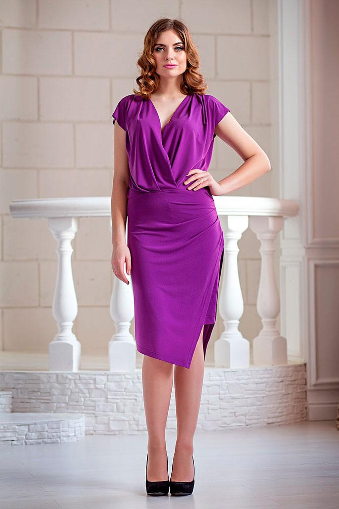 нарядное платье фиолетовое фото