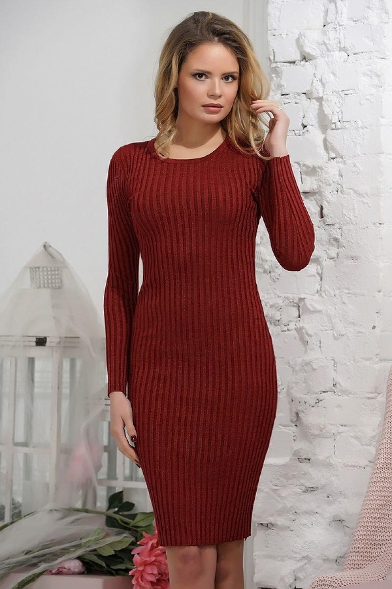 вязаное платье лапша фото
