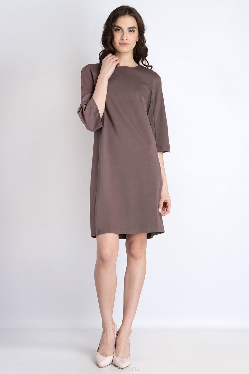повседневное платье свободного кроя