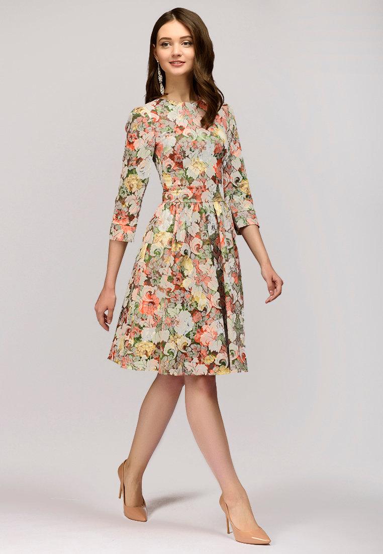 повседневное платье весна