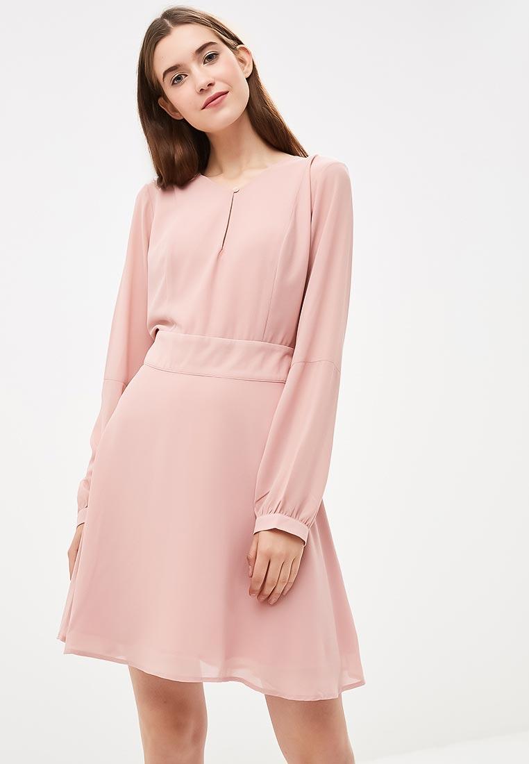 повседневное платье розовое