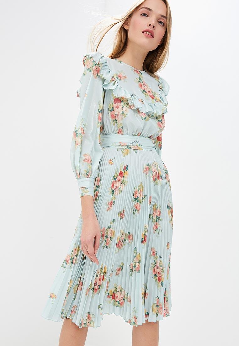 повседневное платье шифон
