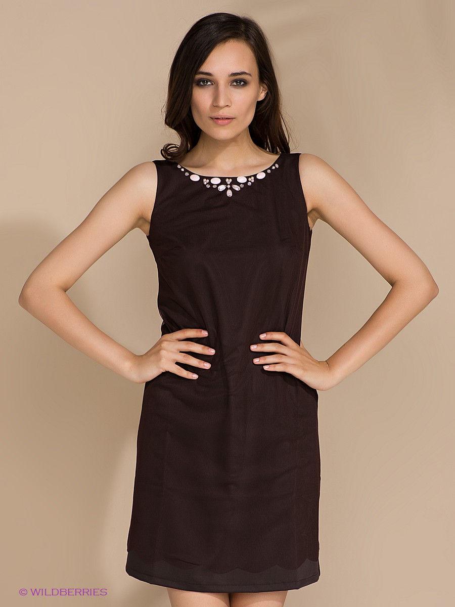 платье с ювелирным вырезом