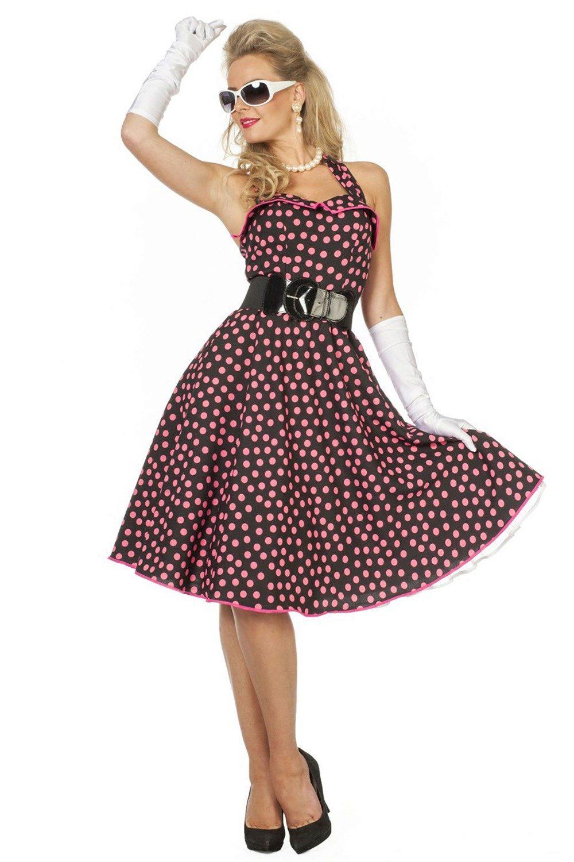 платье в горошек в стиле ретро фото