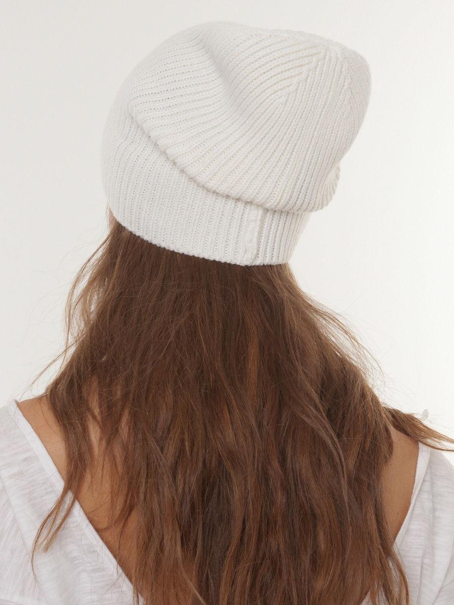 шапка бини белая фото