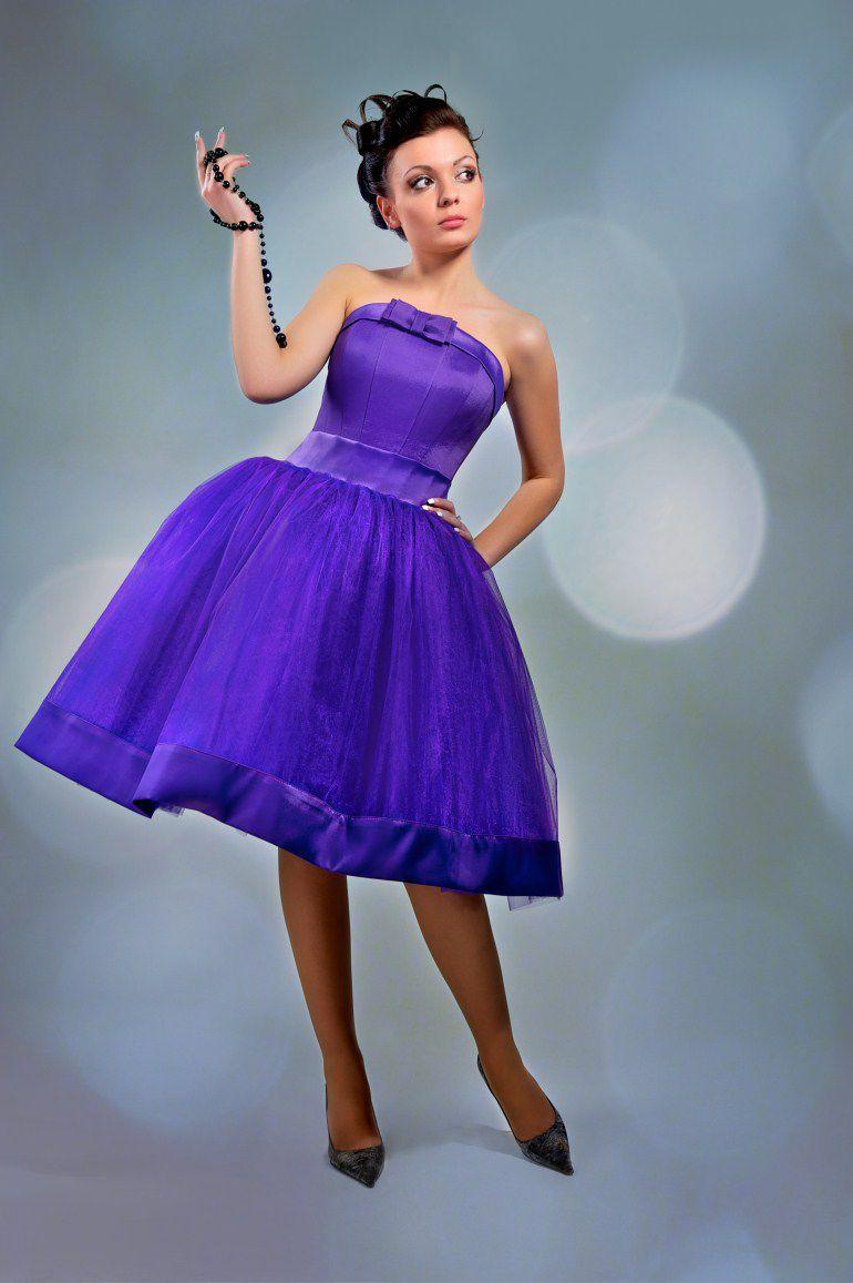 пышное платье в стиле стиляг фото