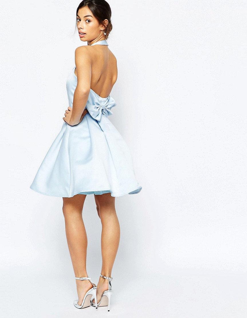 пышное платье с открытой спиной фото