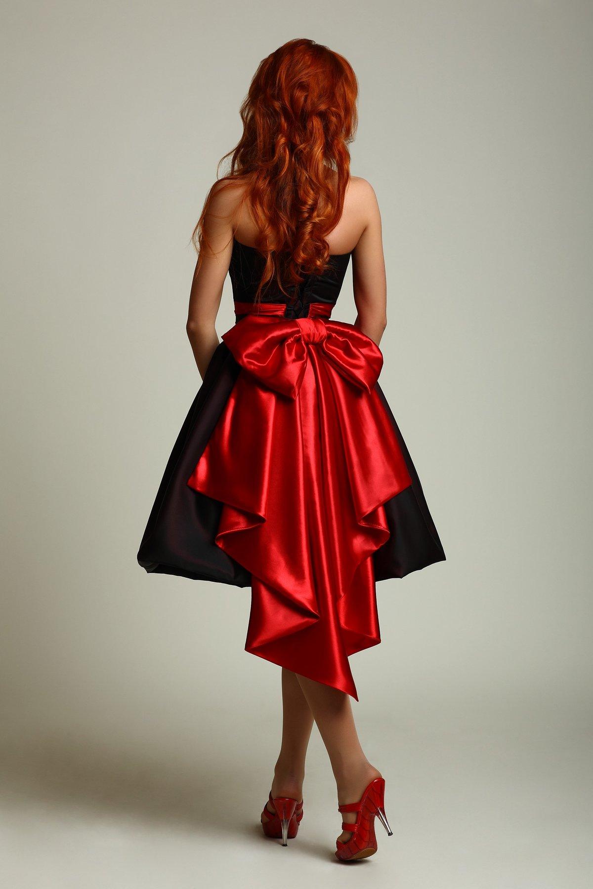 пышное платье с бантами фото