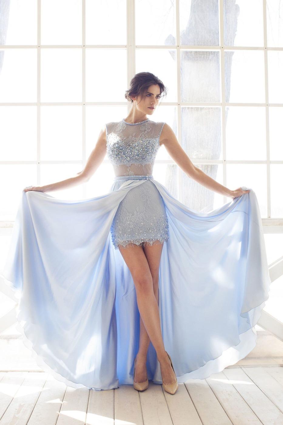 Платье-трансформер с пышной юбкой фото