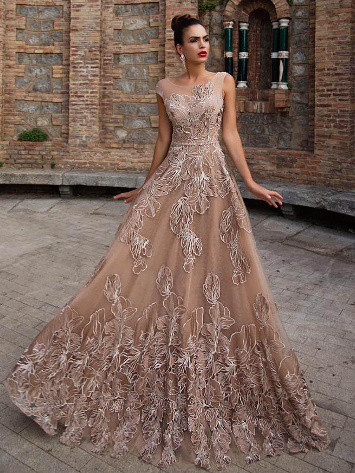 пышное платье вечернее фото