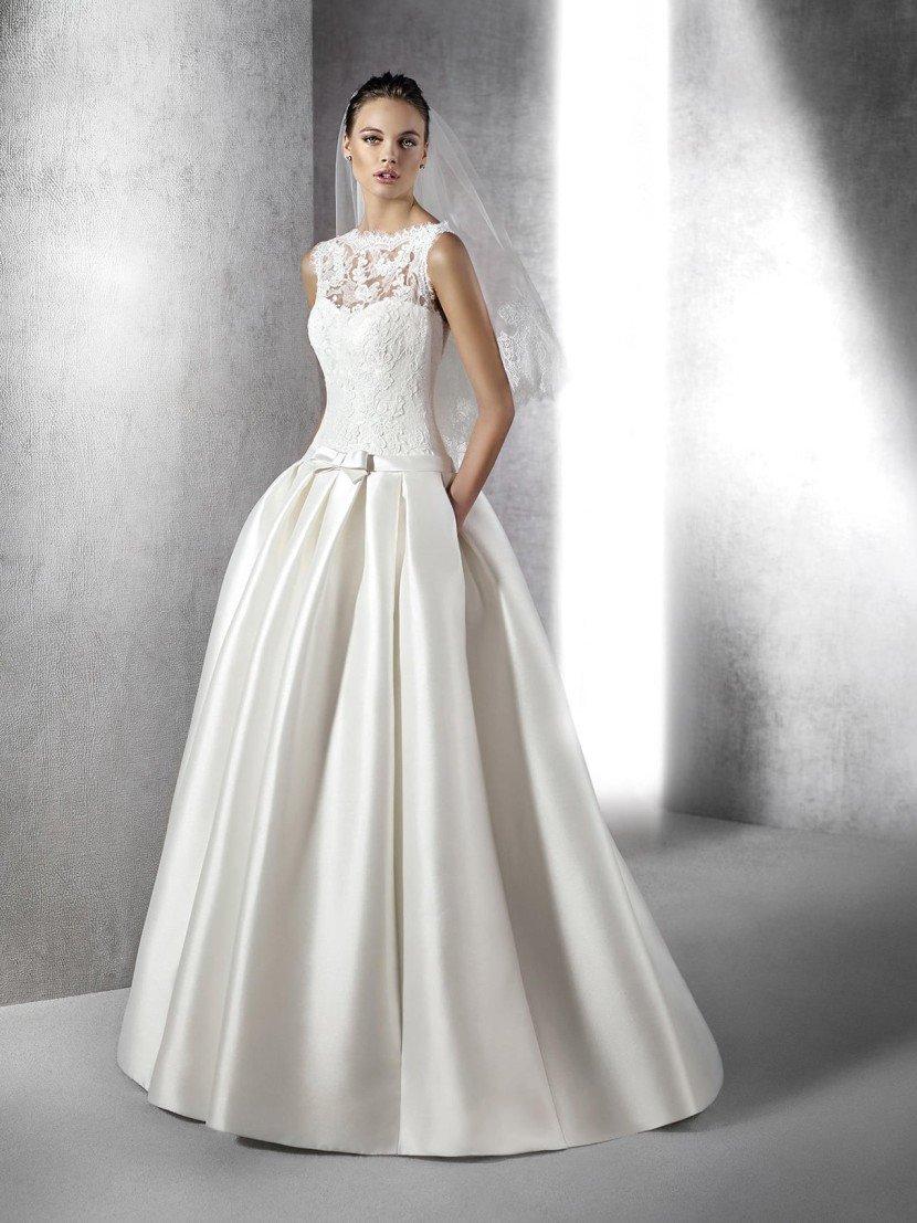 пышное платье свадебное в пол фото