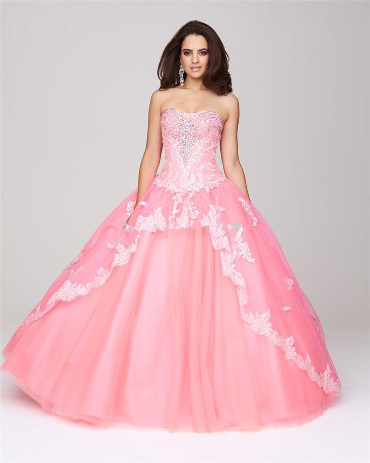 пышное платье розовое фото