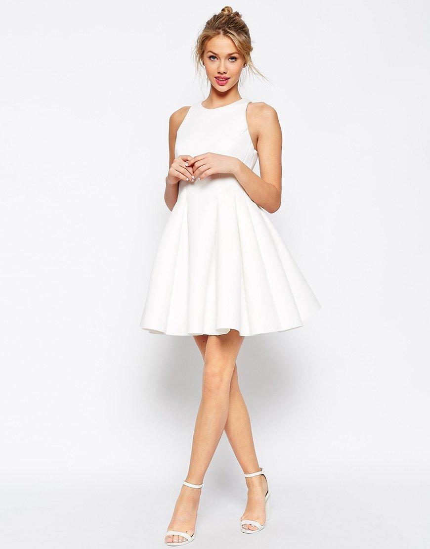 пышное платье белое фото