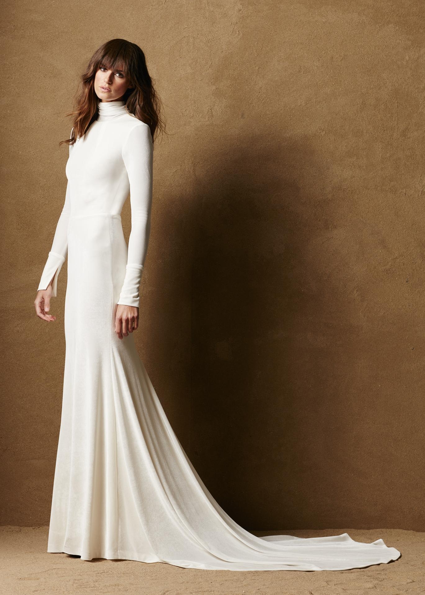 бархатное платье свадебное