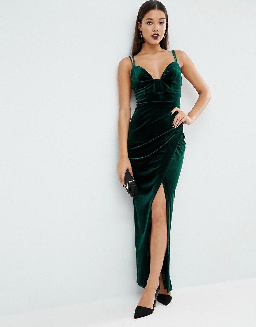 бархатное платье для выпускного