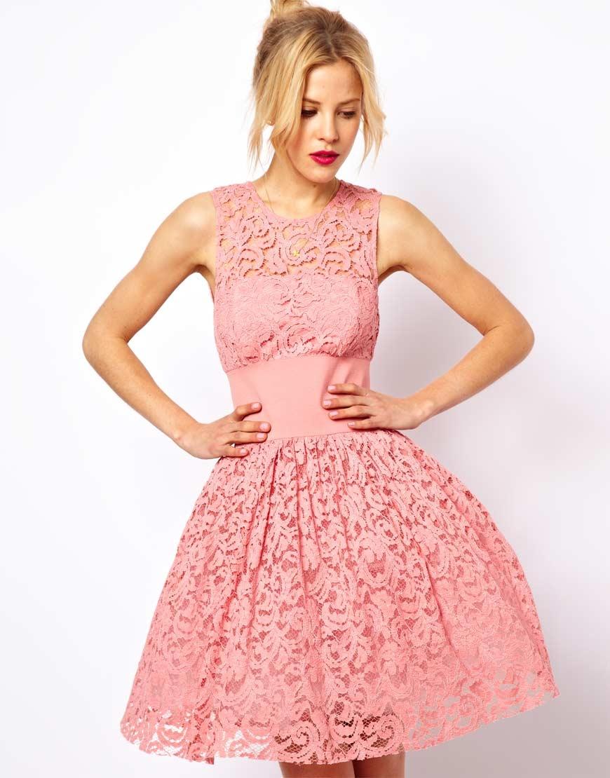 платье из гипюра выпускное