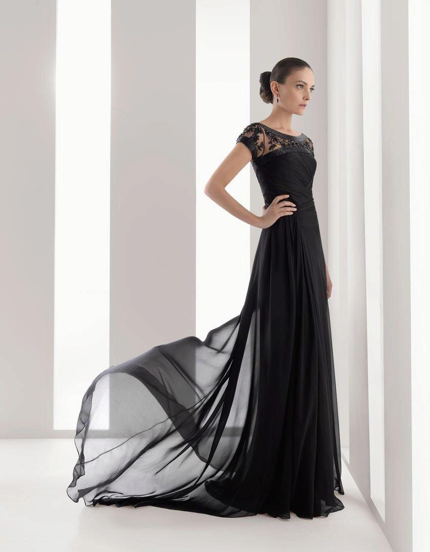 платье со шлейфом прямое