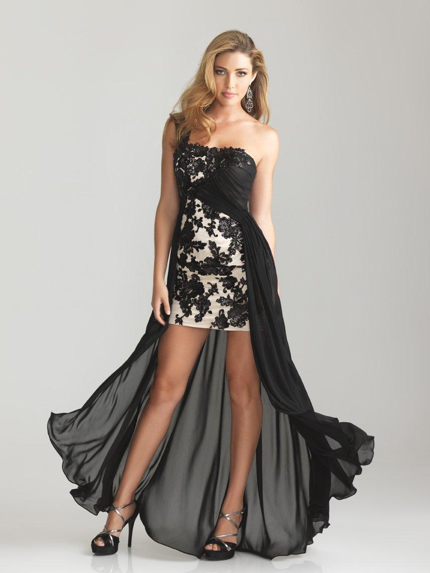 платье со шлейфом вечернее