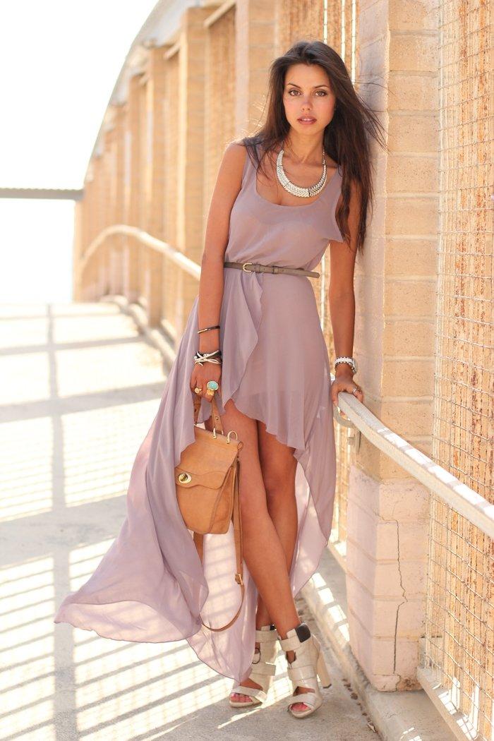платье со шлейфом с чем носить