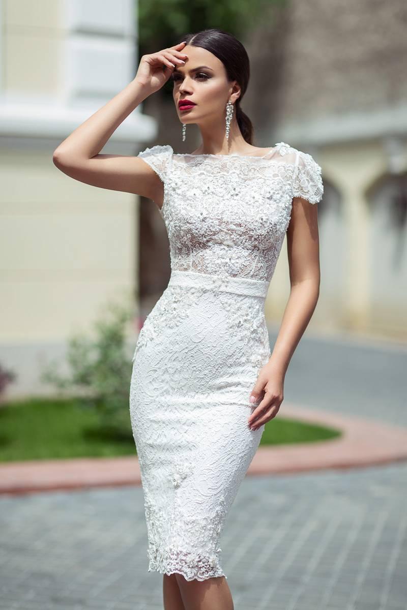 платье карандаш свадебное