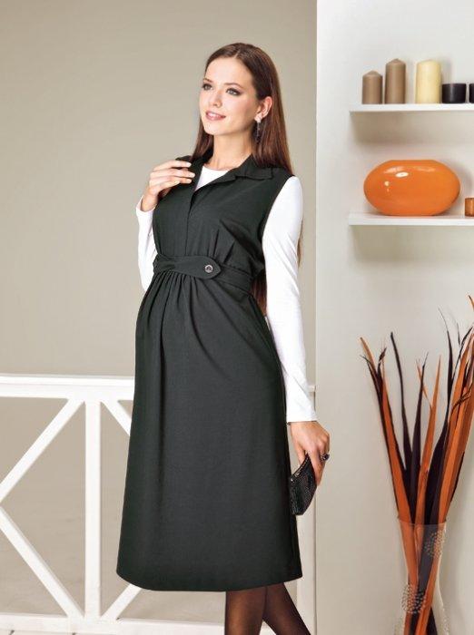 офисное платье для беременных