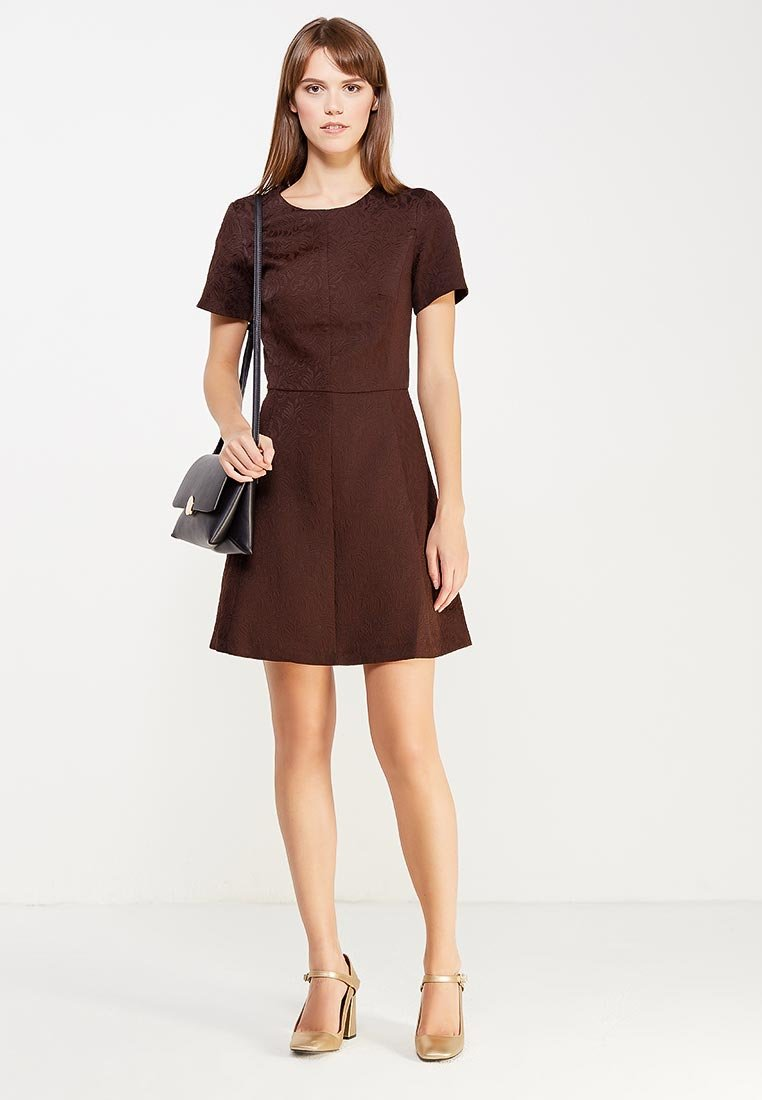 офисное платье короткое