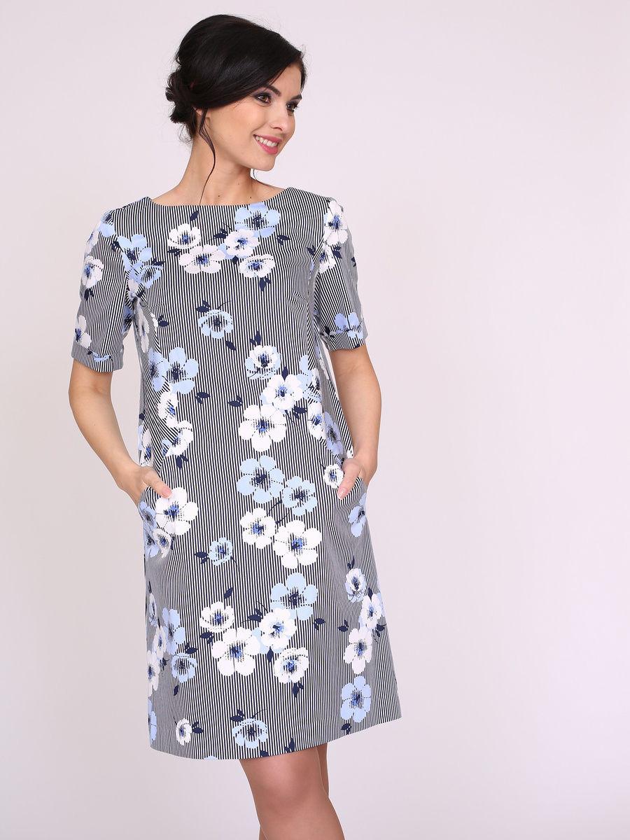 Платье прямого силуэта летнее фото