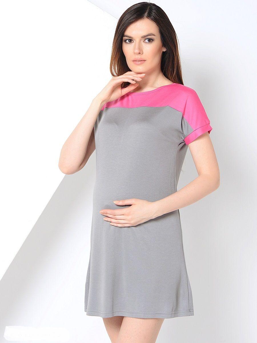 платье прямого силуэта для беременных фото