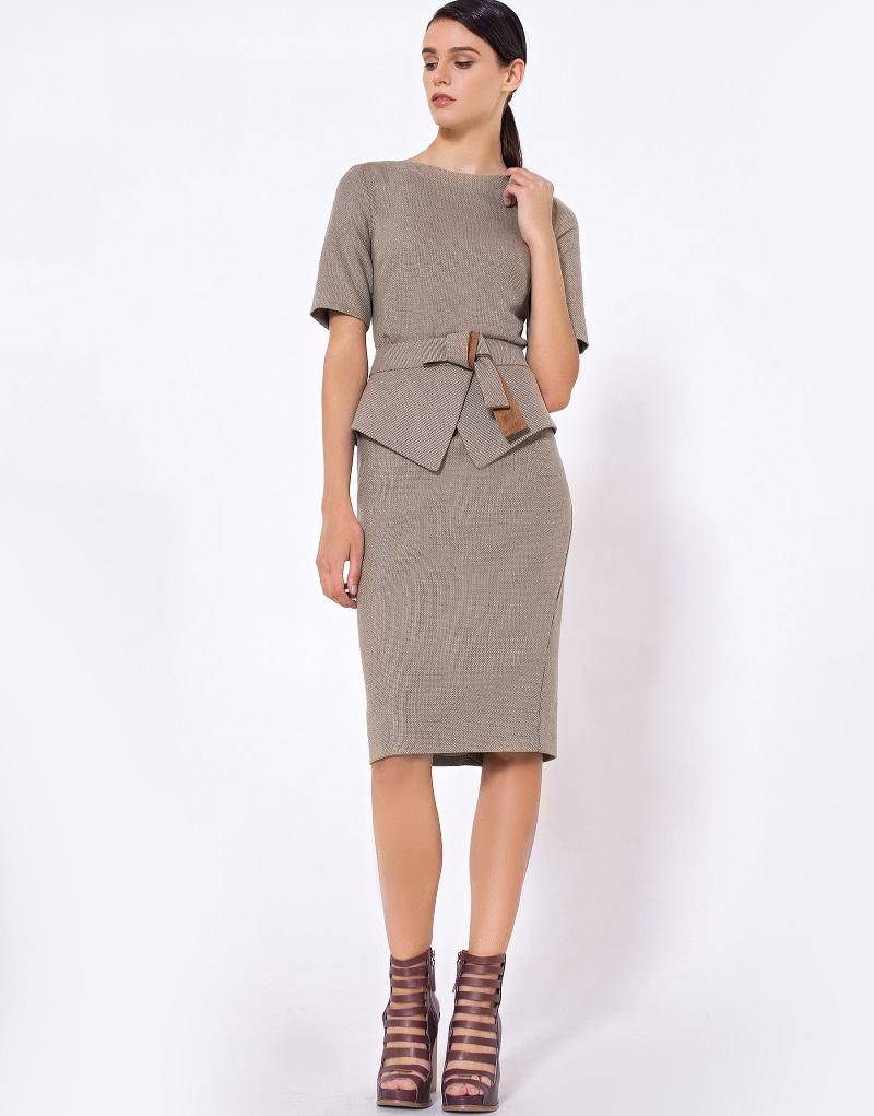 платье карандаш костюмная ткань