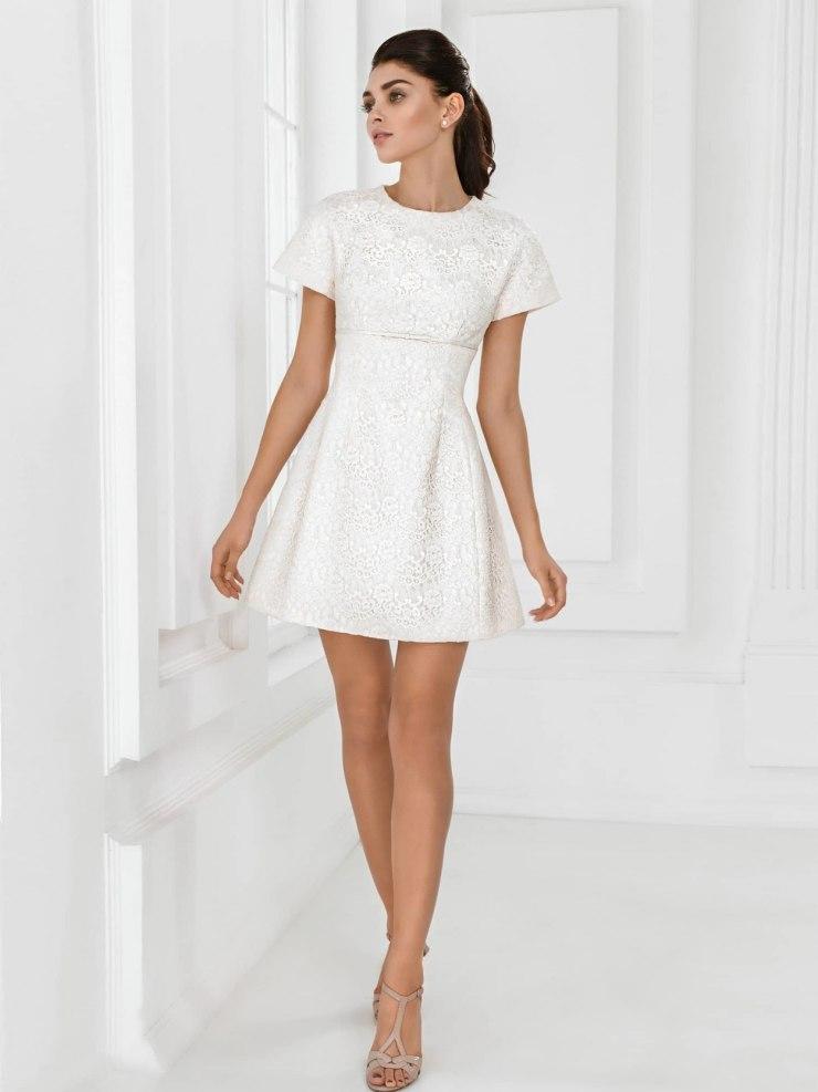 свадебное платье короткое фото