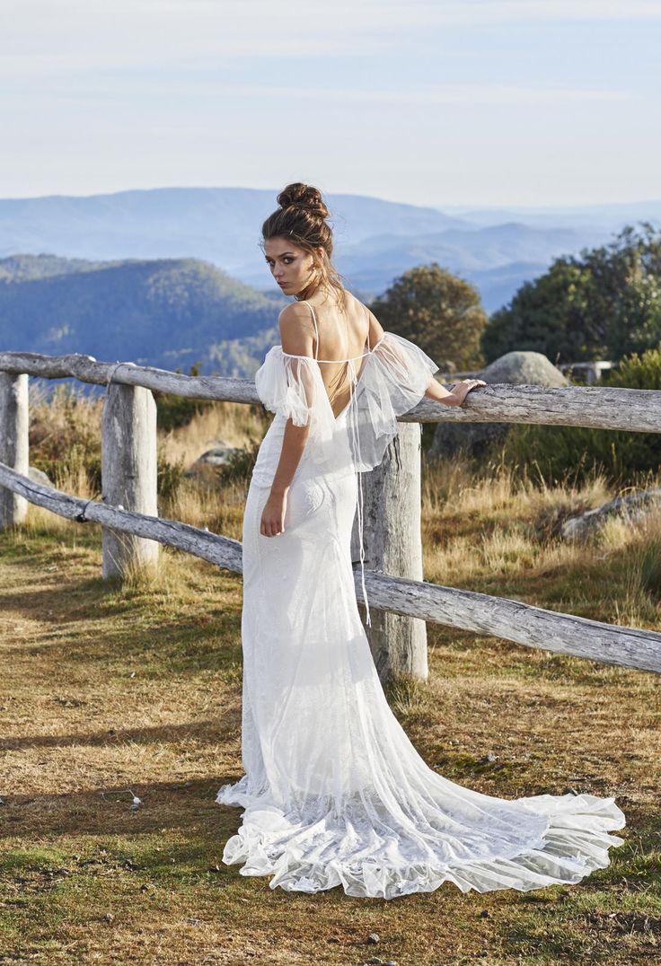 свадебное платье в стиле рустик фото