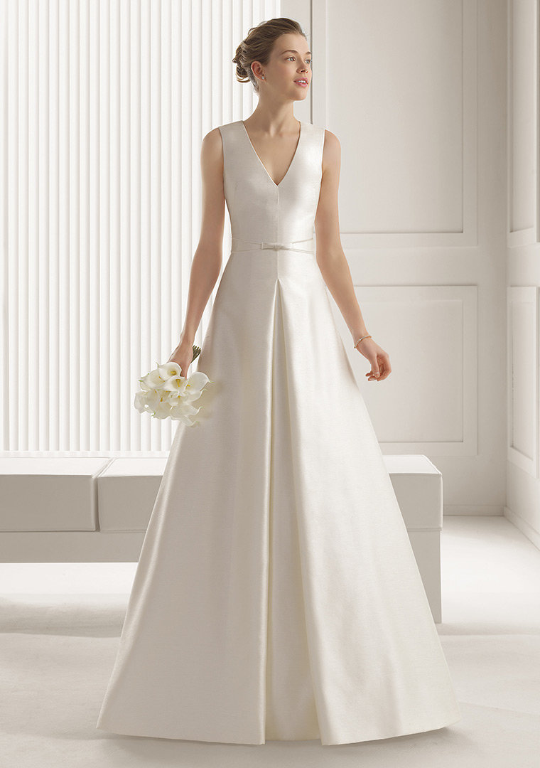 свадебные платья А-силуэта фото