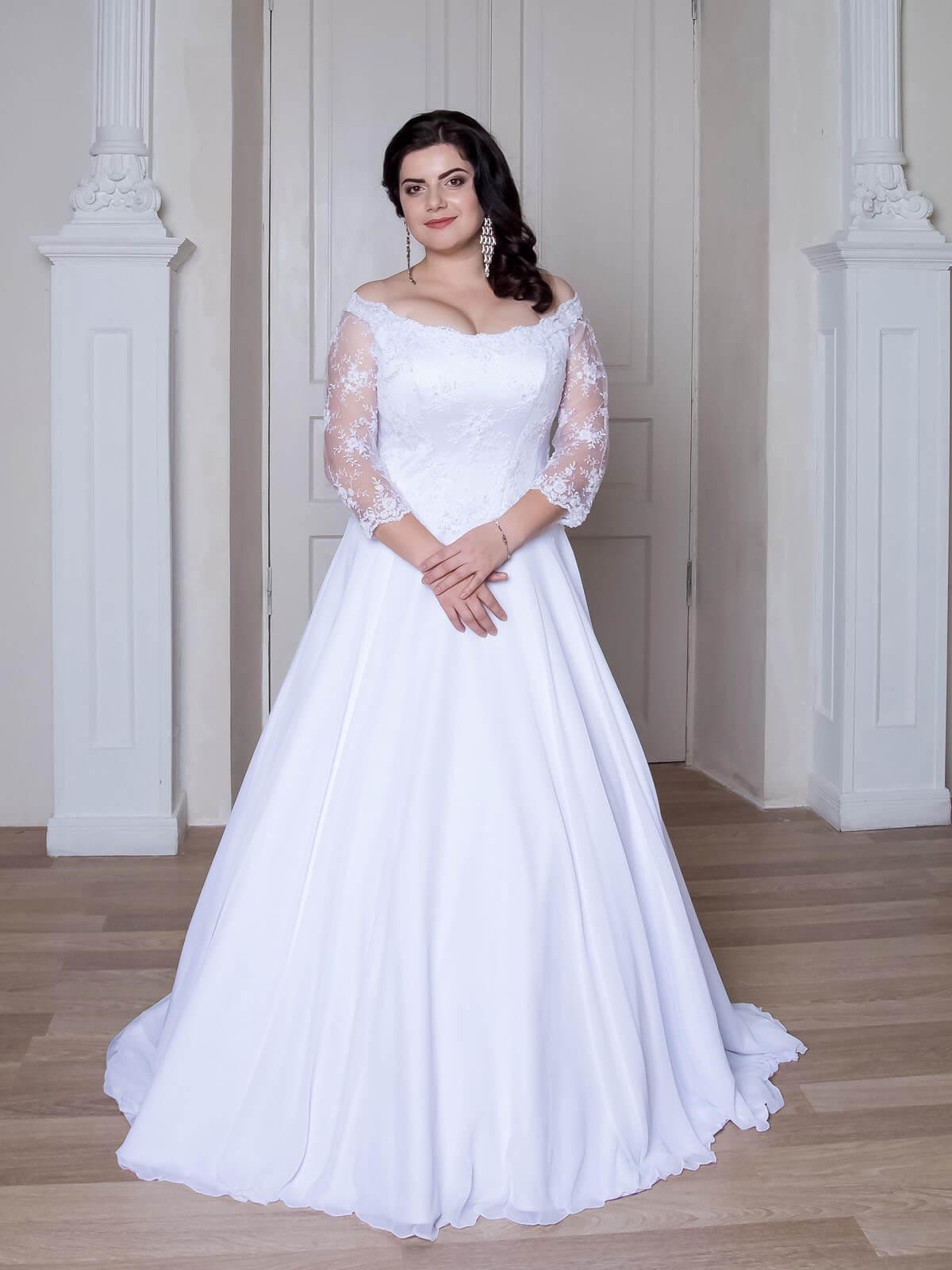 Свадебные платья на полную фигуру фото