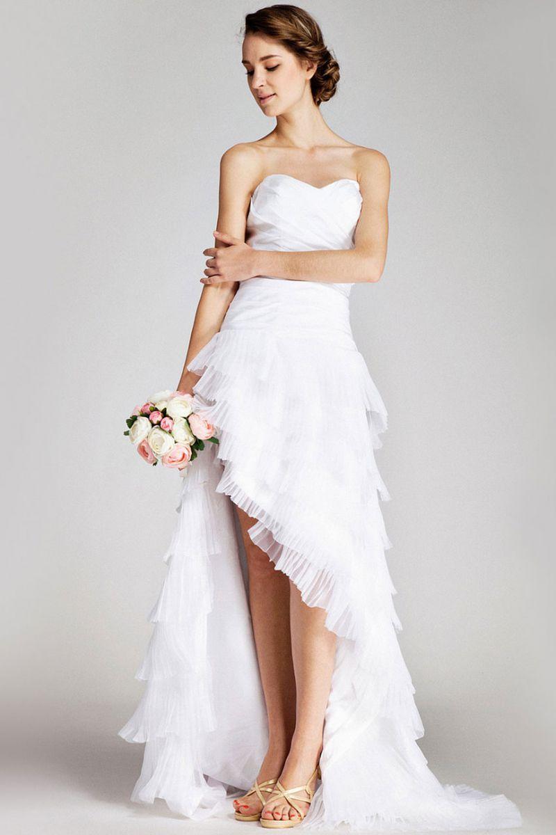свадебные платья для девушек маленького роста фото
