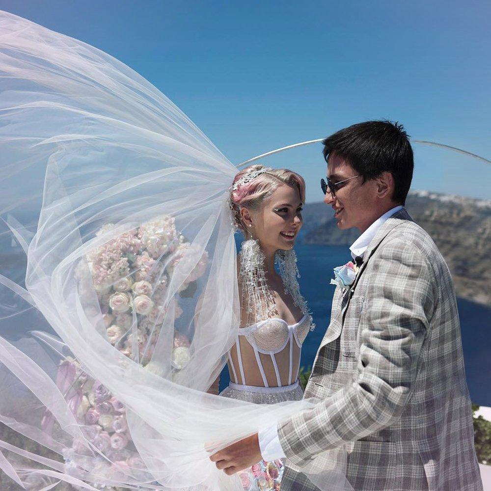 Елена Шейдлина в свадебном платье фото