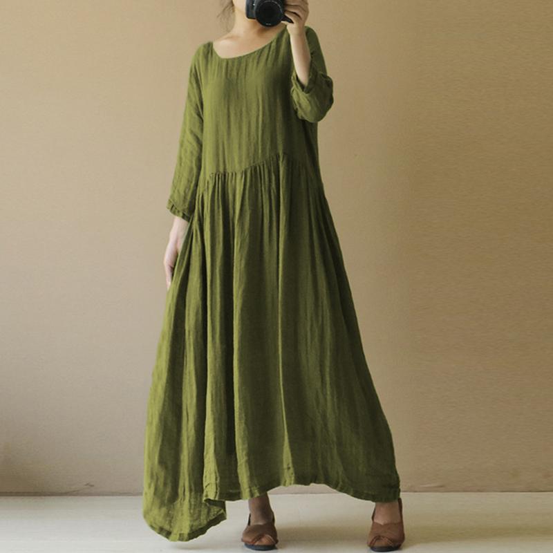платье бохо с длинным рукавом фото
