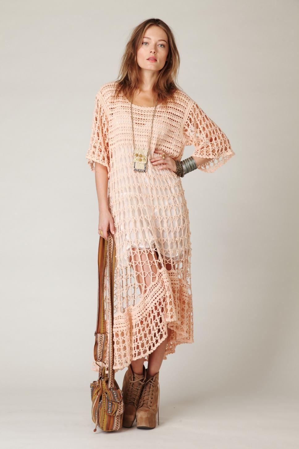 платье бохо туника фото