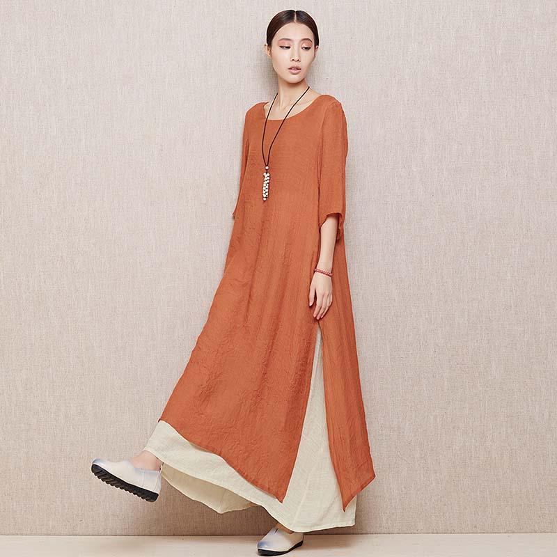 Платье прямого кроя бохо фото